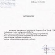 Specjalistyczny Szpital im. dr M. Pirogowa